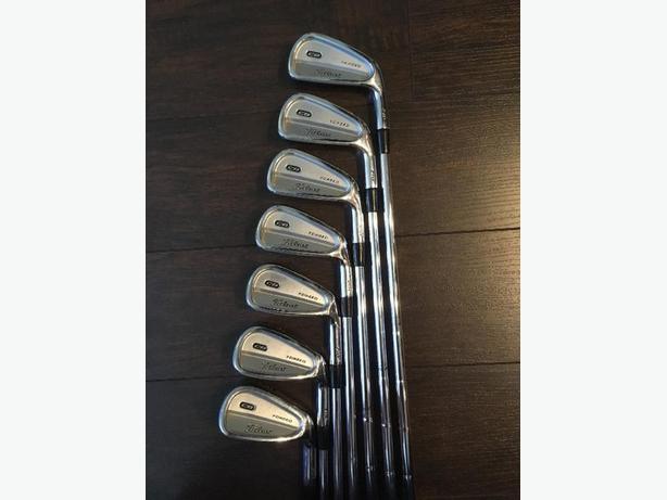 Titleist 710 CB irons (4-PW)