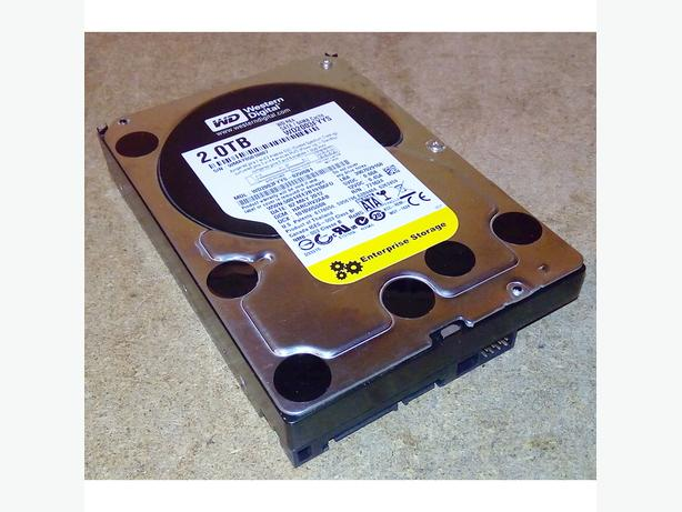 "WD Western Digital 2TB 2000GB 64MB Cache SATA 3.5"" Internal Hard Drive Disk"