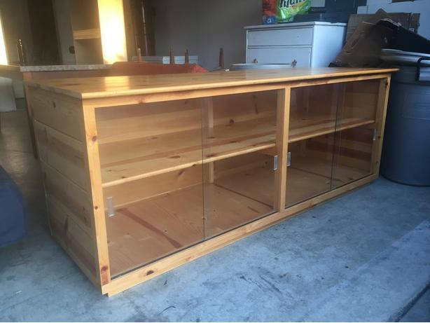 custom made sideboard cabinet like new