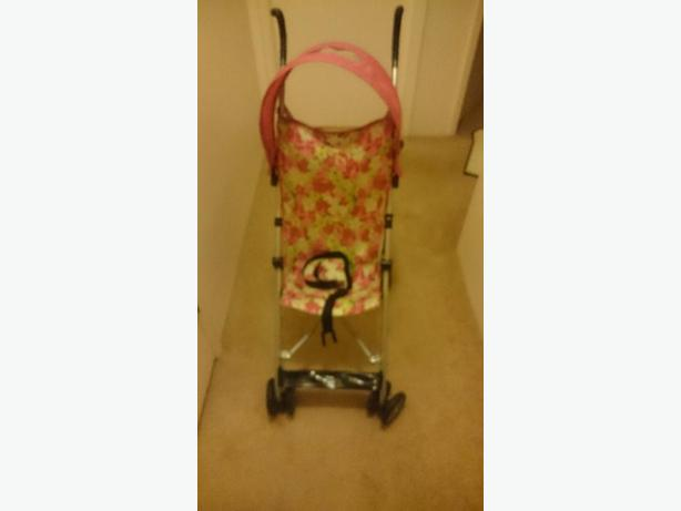 baby girl light stroller