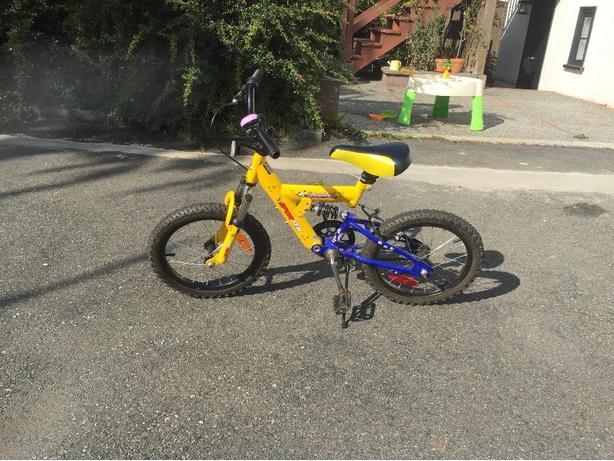 Sportek 16 inch bike