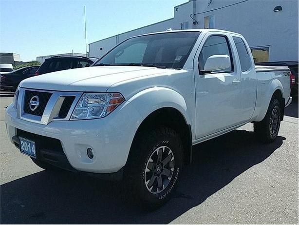 2014 Nissan Frontier PRO-4X King Cab