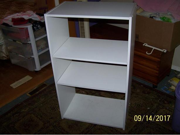 3 shelving units for $30...moving must sell at rock bottom prices
