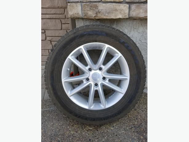 Winter Rims & Tires with TPMS Dodge Journey  5x127