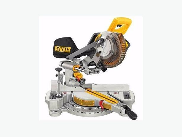 Brand New Dewalt cordless mitre saw