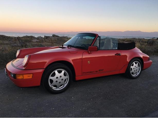 1990 Porsche 911 Carrera 2 Cabriolet 964 -Super Rare -Single Owner -All Original