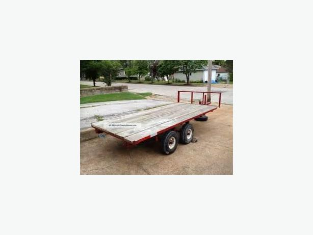 Flat Bed Trailer Project