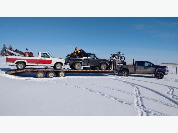 trucking to Alberta