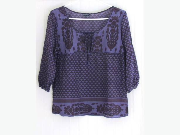 American Eagle Blouse $5 & Rachael & Chloe Dress $5