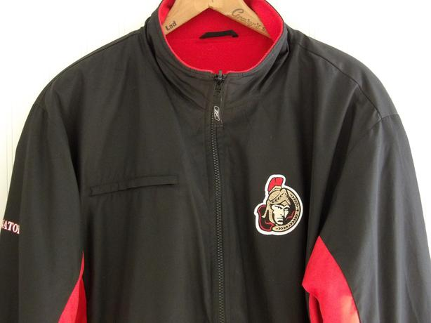 Ottawa Senators NHL Rbk Men's Jacket - Size Large