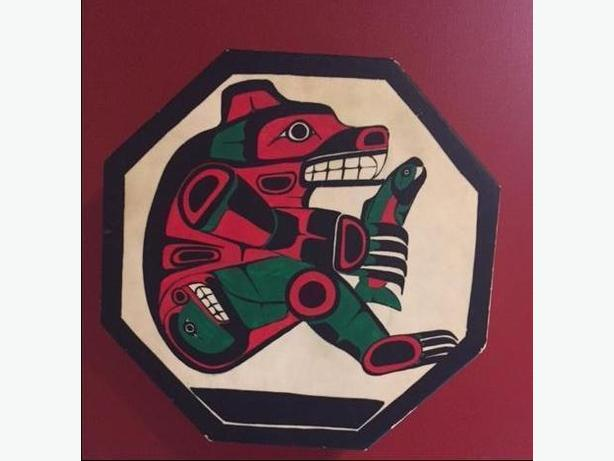 *Price Reduced*  Coast Salish Drum