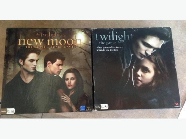 Twilight & New Moon the Movie Board Games