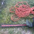 Hedge Trimmer with extension cord