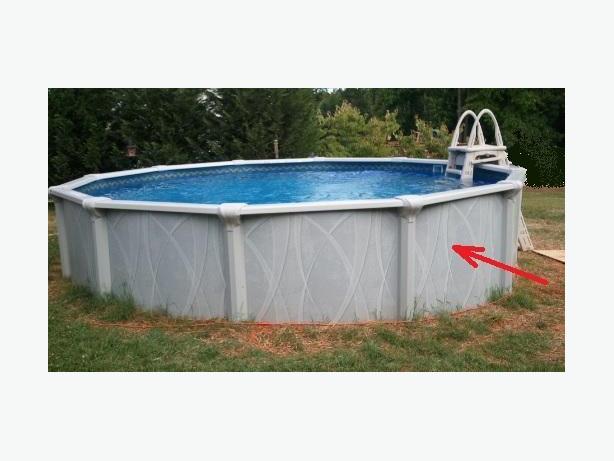 WANTED: Swimming pool sheet metal