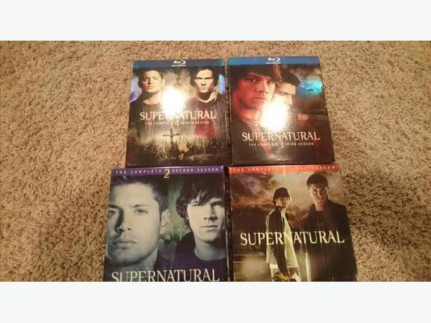 supernatural seasons 1-4