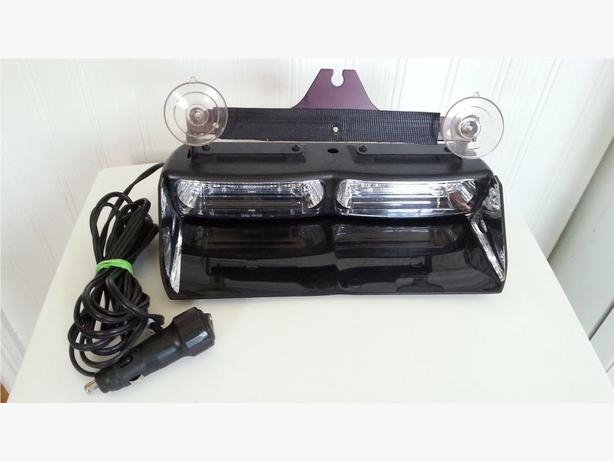 WHELEN Super LED Dual Dash Amber Strobe Light