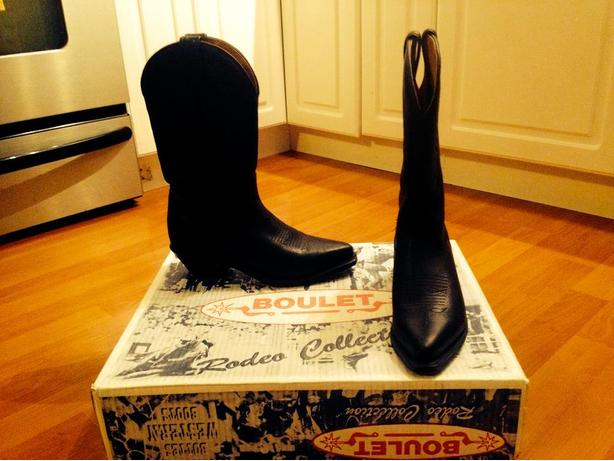 Boulet Western Boots Size 6.5