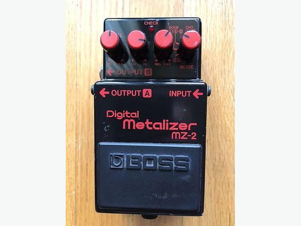 Boss Digital Metalizer 80's Made in Japan