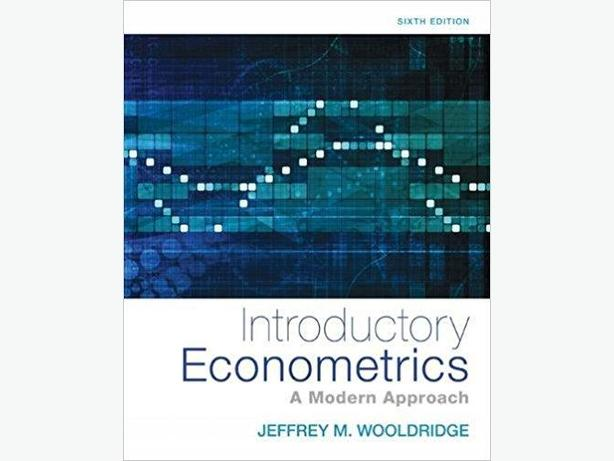 Introductory Econometrics: A Modern Approach 6th Edition