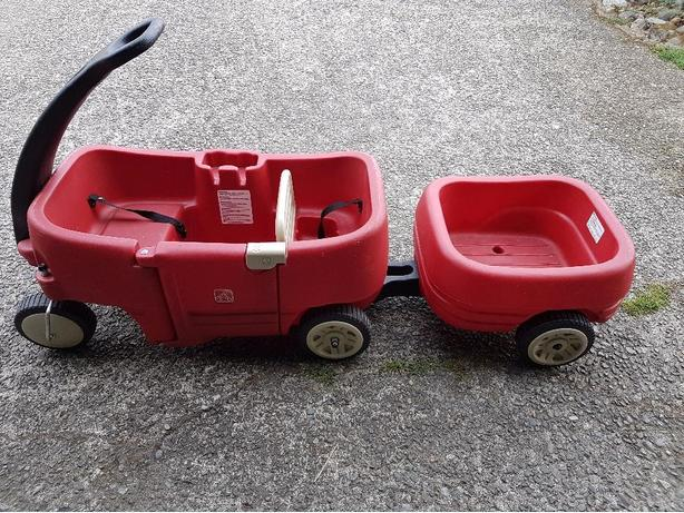 Step 2 wagon with trailer