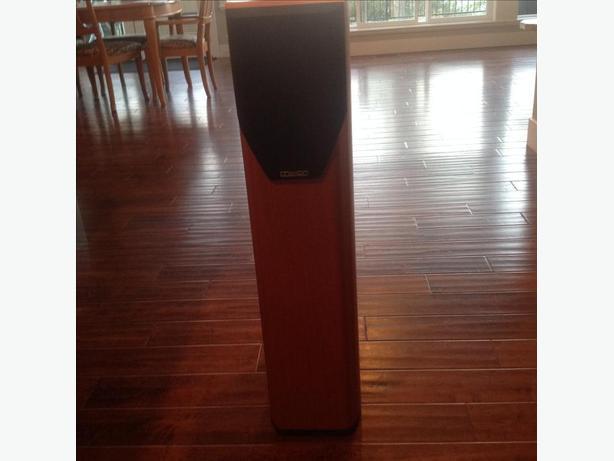 Mission V62 speakers