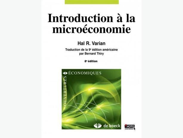 Introduction à la microéconomie - Manuel et cahiers d'exercices