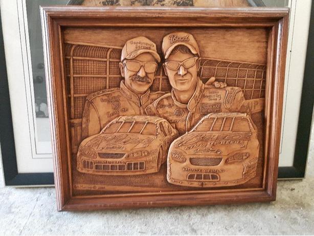 Earnhardt Jr and Sr