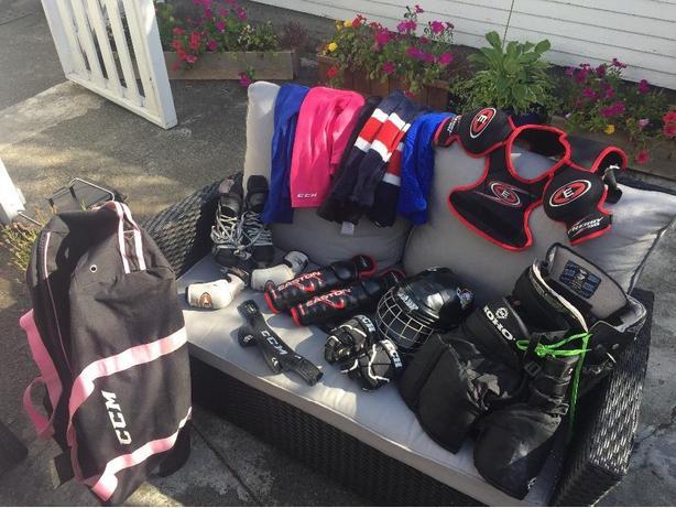 Childrens Hockey gear