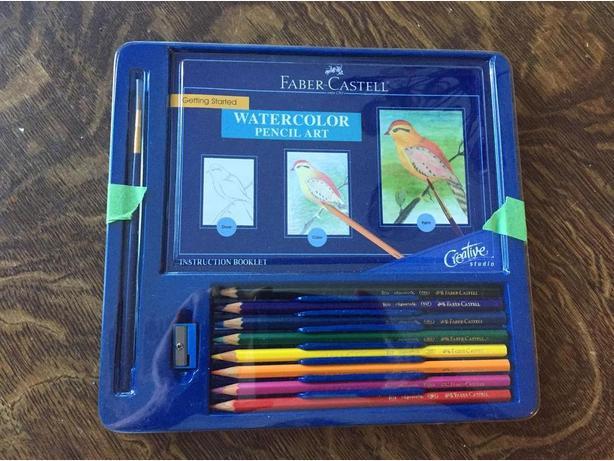 Faber-Castell Watercolor Pencil Art