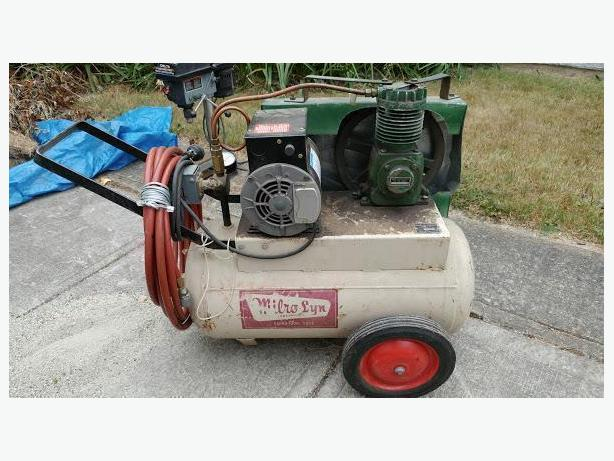 Electric Milro-Lyn Air Compressor with hose