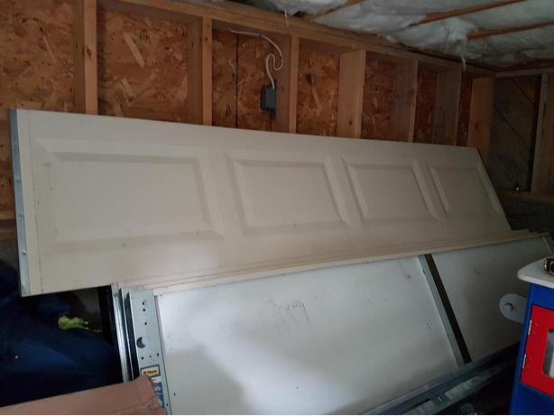 8 foot by 7 garage door insulated