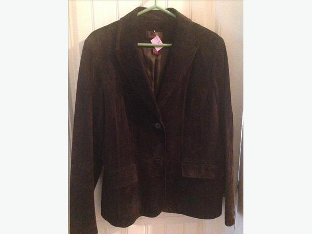Danier blazer style suede jackets