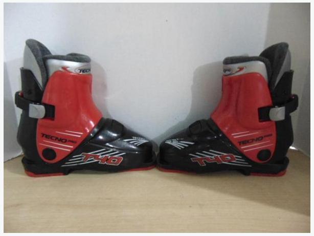 Ski Boots Mondo Size 20.0 Child Size 1 Tecno Pro T40
