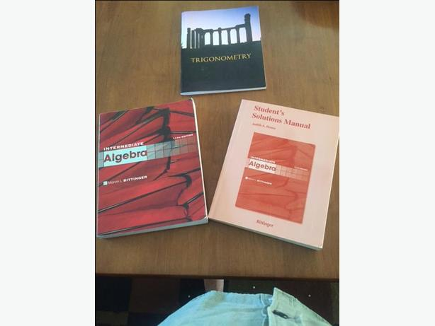 CAMOSUN Math 137: Intermediate Algebra Text & Solutions Manual; Trigonometry