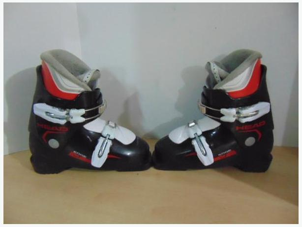 Ski Boots Mondo Size 20.0 Child Size 2 Head Minor Wear