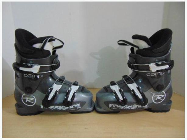 Ski Boots Mondo Size 20.5 Child Size 1.5 Rossignol Grey