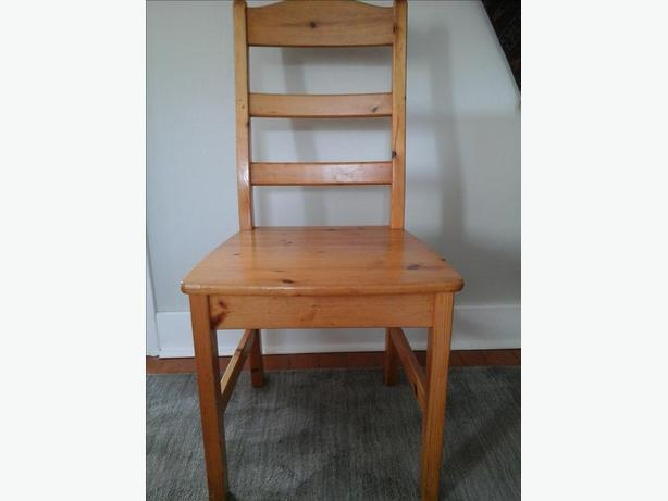 Solid  Wood  Chairs (3)