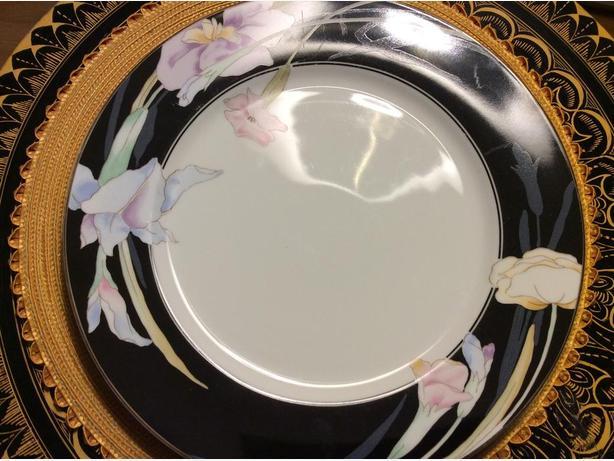 Mikasa Charisma black fine china serving platter North Saanich ...
