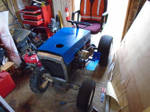 "John Deere Lx277 48"" deck, Ford 120 w/ Snowblower, ect."