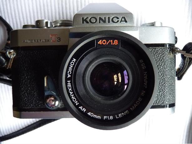 Konica Autoreflex T3 35mm SLR film camera