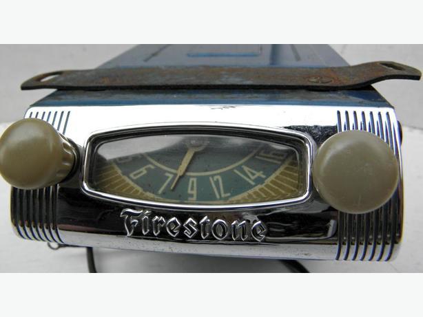 1950 51 52 53 Chevy GMC Ford F 150 Truck Firestone Radio
