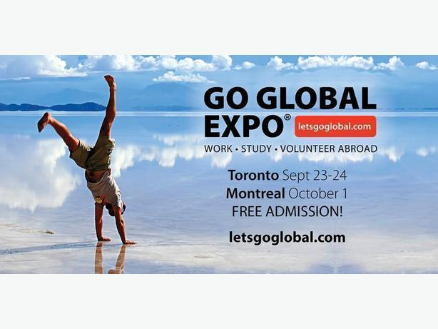 FREE: Go Global Expo - Work, Volunteer, Study Abroad