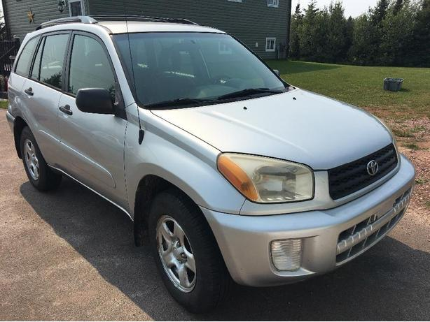 2002 toyota RAV4 low kms