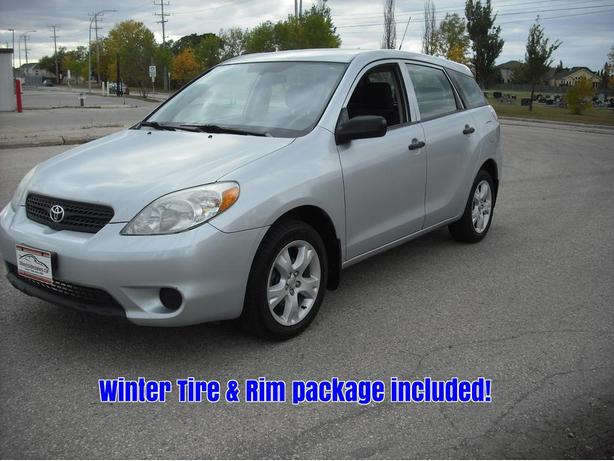 2006 Toyota Matrix with 2 sets of wheels