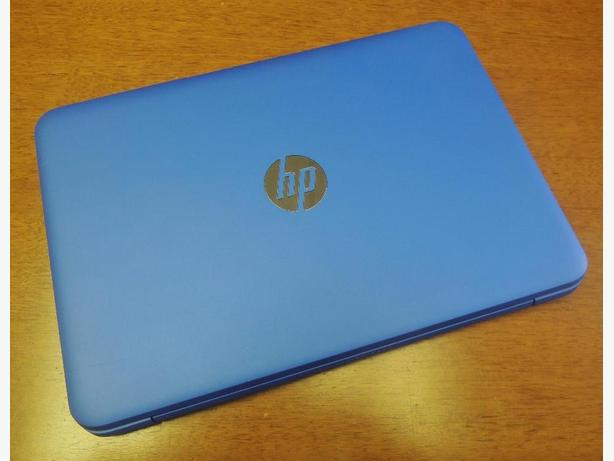 "HP Stream 14"" Laptop Blue & White"