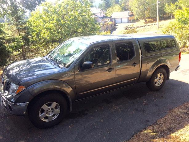 2007 Nissan Frontier Crew Cab 4x4  LWB 6speed manual