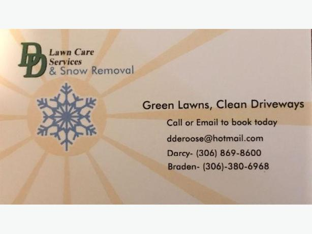 DD Snow Removal Services- Taking Winter Clients.