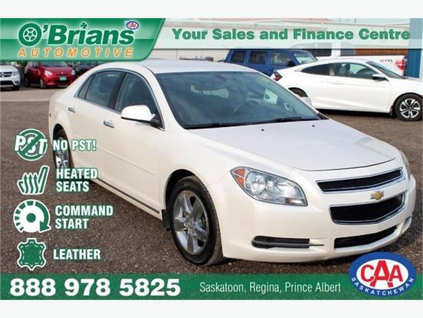 2012 Chevrolet Malibu LT Platinum Edition - No PST!