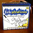 Fun Party Game Telestrations! No Drawing Skills Required!