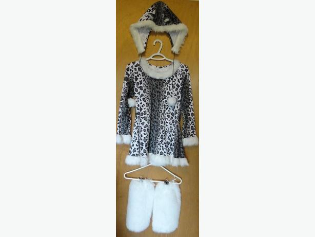 Snow Leopard Costume, size 12/14